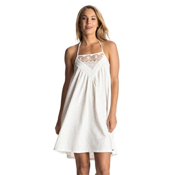 6dcde232216 NEW Roxy I Knew From U White Beach Dress